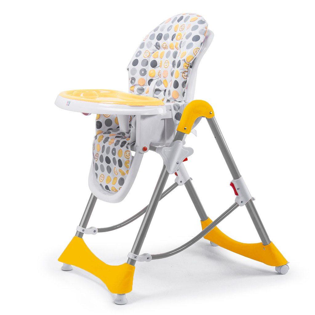 chaise haute en plastique