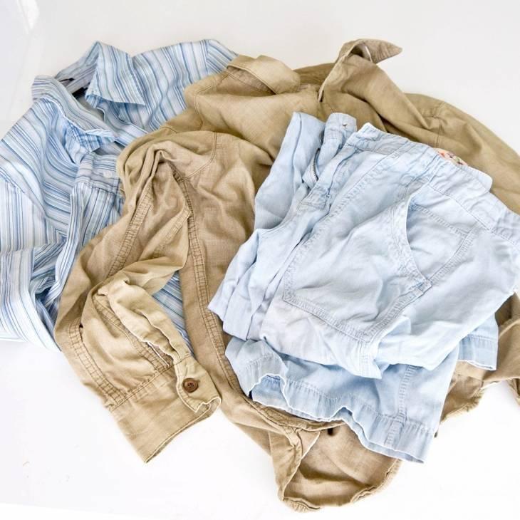 vêtements à défroisser
